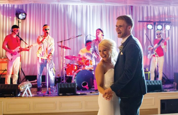 These are the 10 most popular wedding songs of the last year