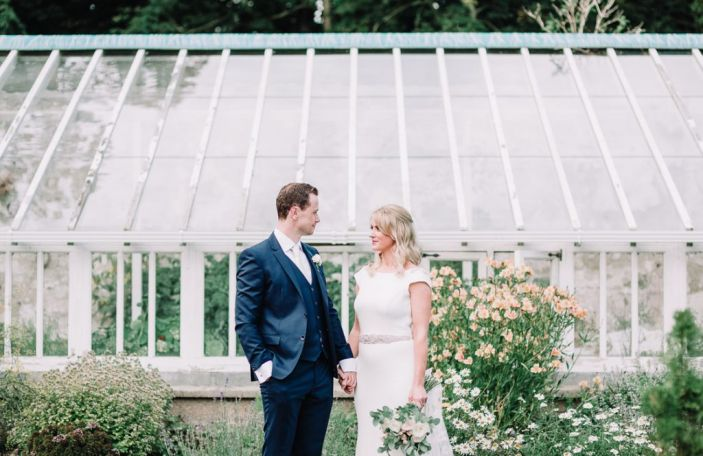 Lisa and George's relaxed, garden party wedding at Ashley Park, Co Tipperary