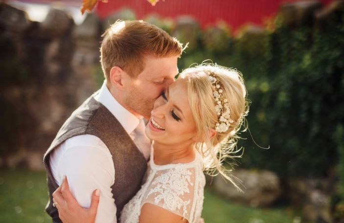 Leigh and Kerri's sunny summer wedding at Riverdale Barn, Co. Antrim