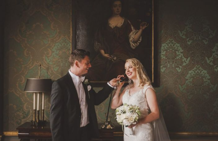 Lynne and Louis' glam city centre wedding at The Shelbourne Hotel