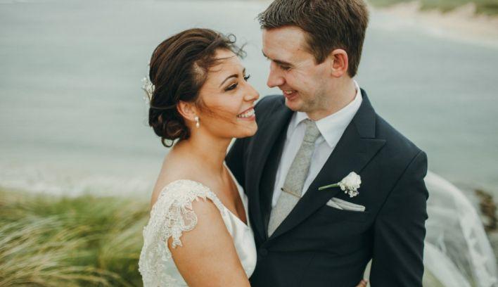 Hannah and Neil's coastal Donegal wedding, captured by Paula O'Hara