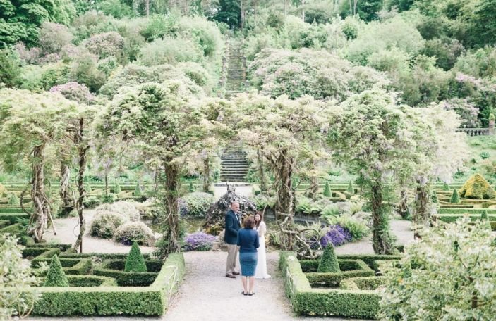 An Intimate Elopement at Bantry House & Garden