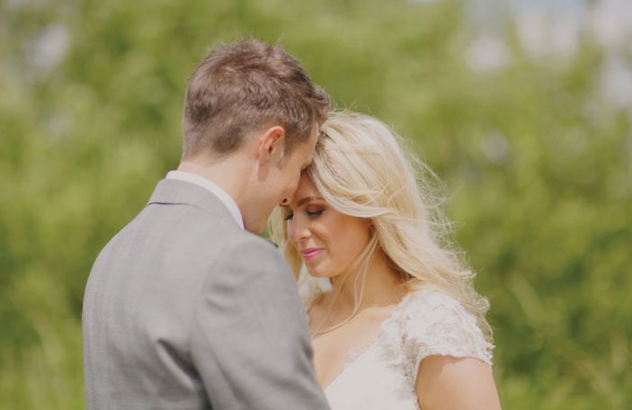 Laura and Ciaran's dreamy real wedding at Lough Eske Castle, Co Donegal