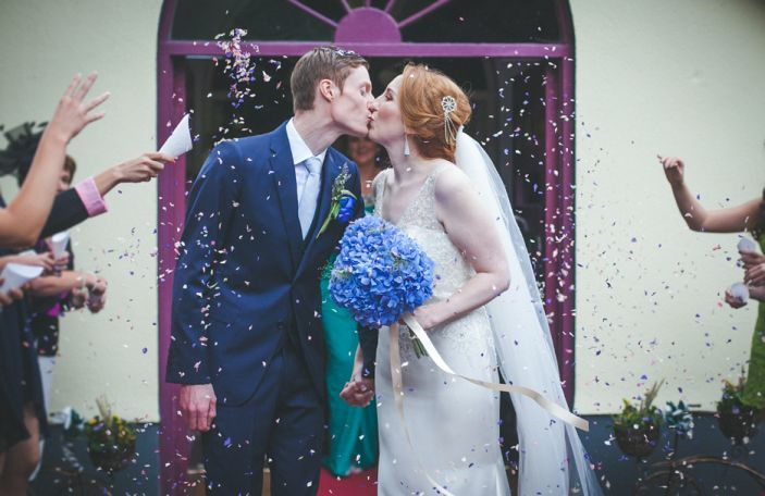 Naomi and Kenneth's gorgeous marquee wedding