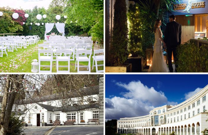 The Fab Four: Awesome Wicklow wedding venues