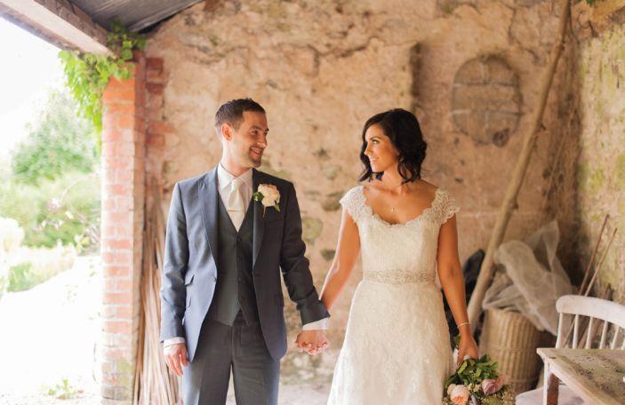Ann and Paul's romantic Larchfield Estate wedding