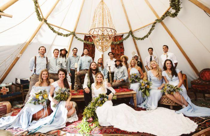 Dress designer Brit and husband Jeff's wedding film