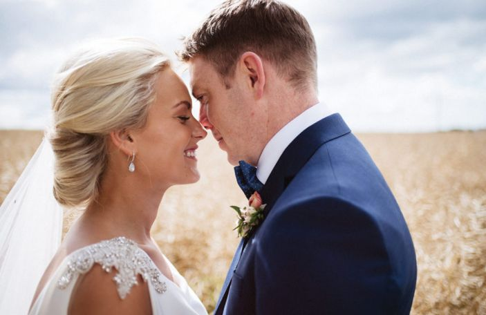 Stunning real wedding at Coolbawn Quay