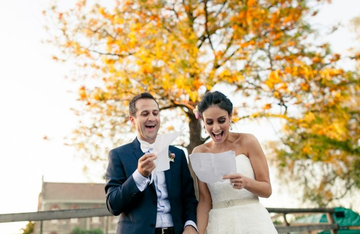 Clare and Phil's relaxed wedding at a children's farm downunder
