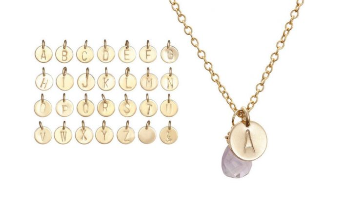 WIN! A Gorgeous Chupi Initial Necklace
