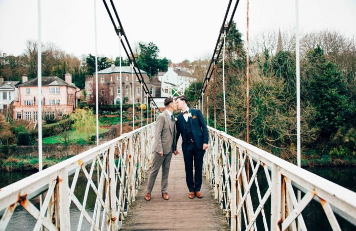 Nick and Kieran's love-filled real wedding at The Metropole Hotel, Cork