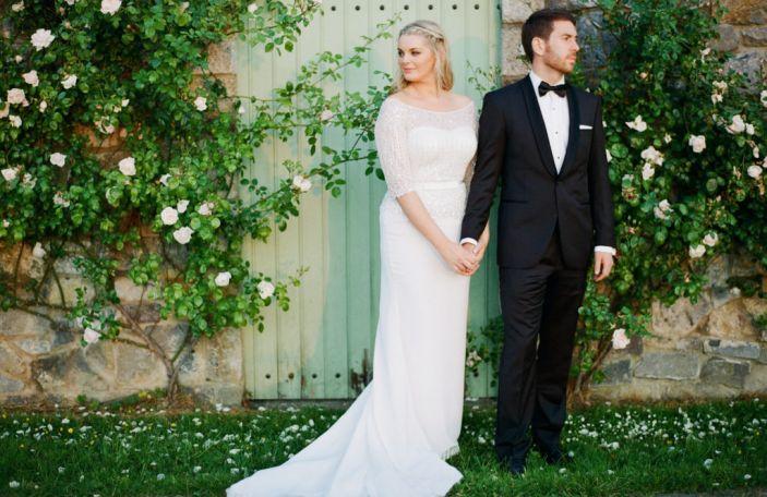 Grace & Kieran's elegant, floral-infused wedding at The Village at Lyons
