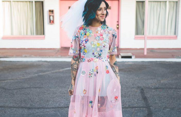 Wedding Dress Trends 2017: Floral Appliqué