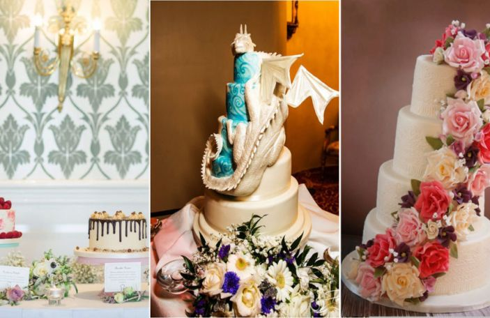 A trio of desserts: 3 fab wedding cake makers to check out