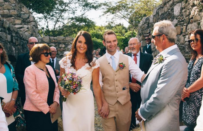 Nadine and Ian's real wedding at Killruddery House, Co. Wicklow