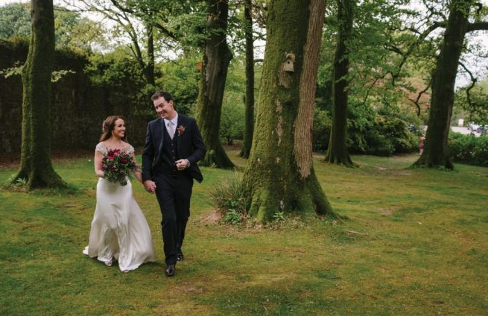 Alison and Richie's rustic wedding at Ballyvolane House