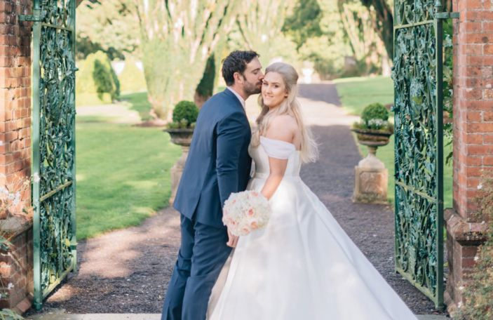 Aisling and Dean's picture-perfect wedding at Tankardstown House
