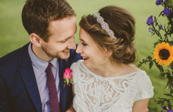 Caroline and Kevin's Colourful Celebration at Lisnavagh House