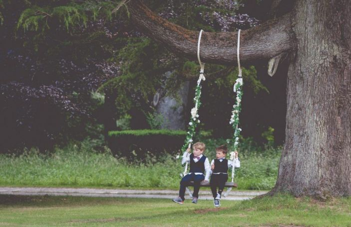 My wife and kids: 7 ways of entertaining kids at your wedding