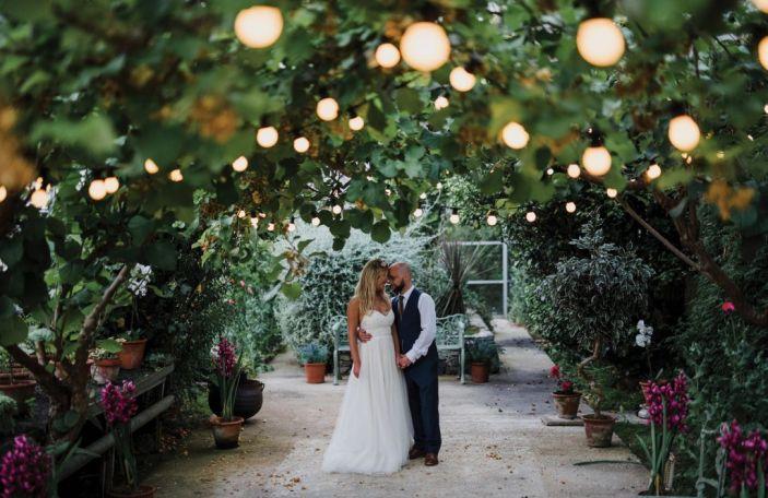 A sunshine-filled celebration for Emma and Sam at Larchfield Estate