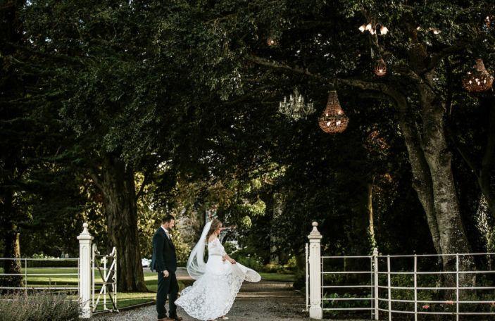 Sarah and Mark's beautiful Ballymagarvey Village wedding