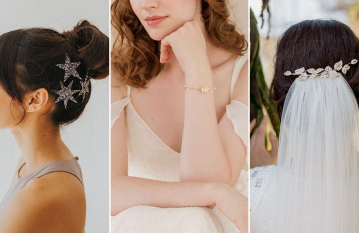 Wedding Accessories: Jewellery, Headpieces and Clips we love!