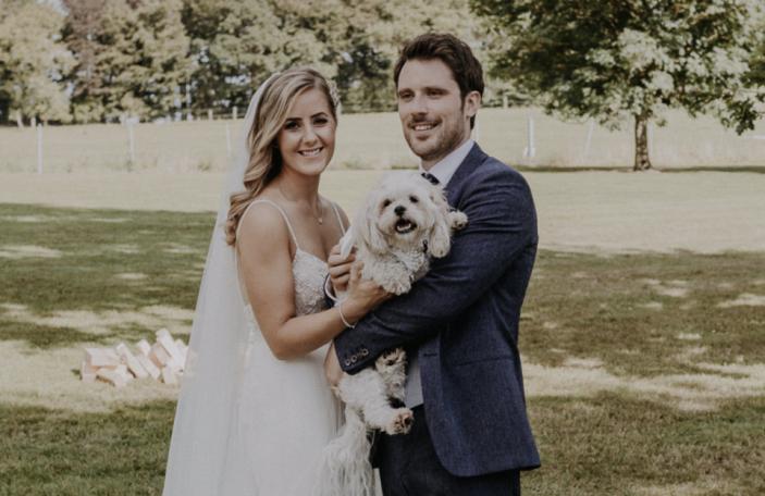 Ruth and Conor's gorgeous summer Kilshane House wedding