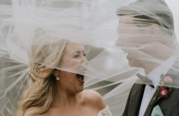 Denise and Darren's stunning, intimate Langton House Hotel wedding