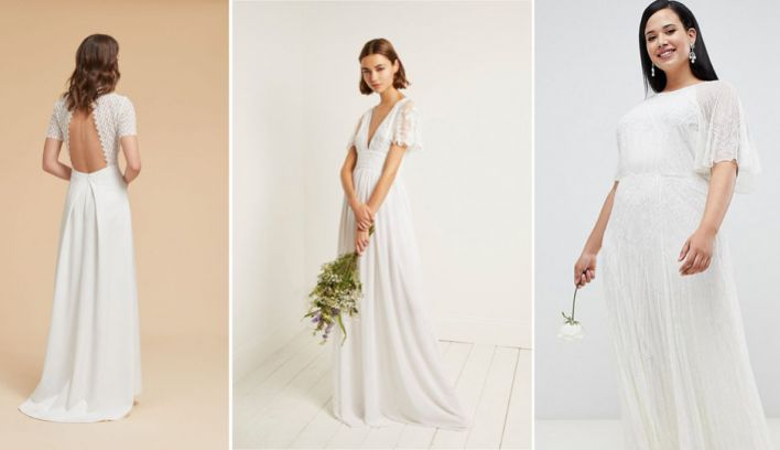 Affordable wedding dresses: Highstreet wedding dresses you'll love