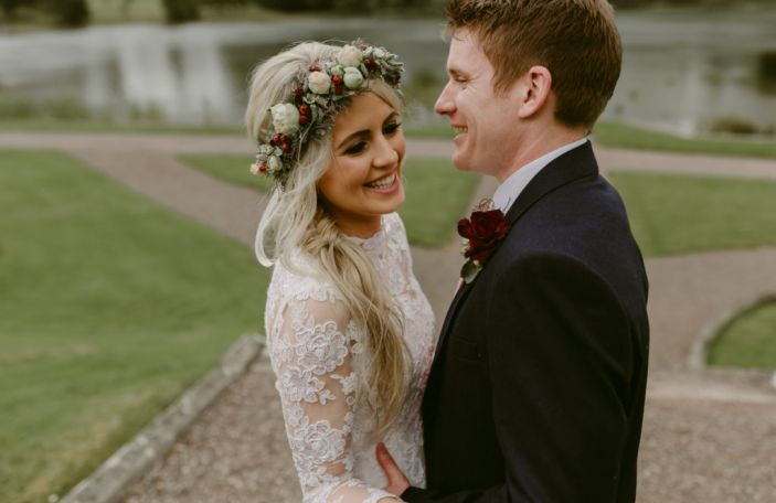 A Stunning Castle Leslie Wedding for Cróna and Joseph
