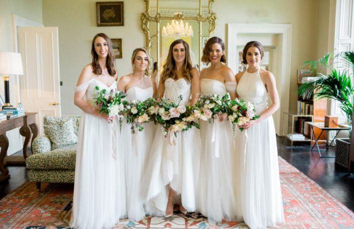 Aisling and Sam's beautiful, fun-filled Virginia Park Lodge wedding