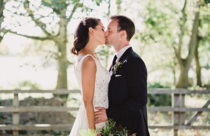 Sabine and Justin's beautiful autumn wedding at Bellinter House