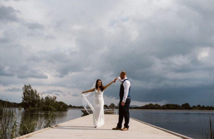 A Stunning Ashley Park Wedding for Siobhán and Brian