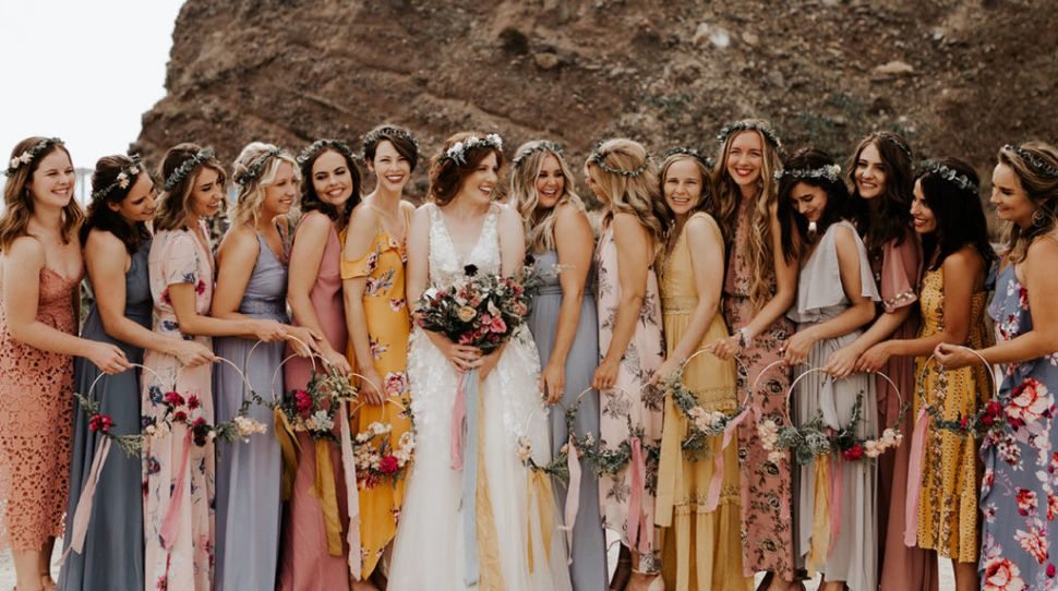Mistakes Brides Make With Mismatched Bridesmaids Dresses