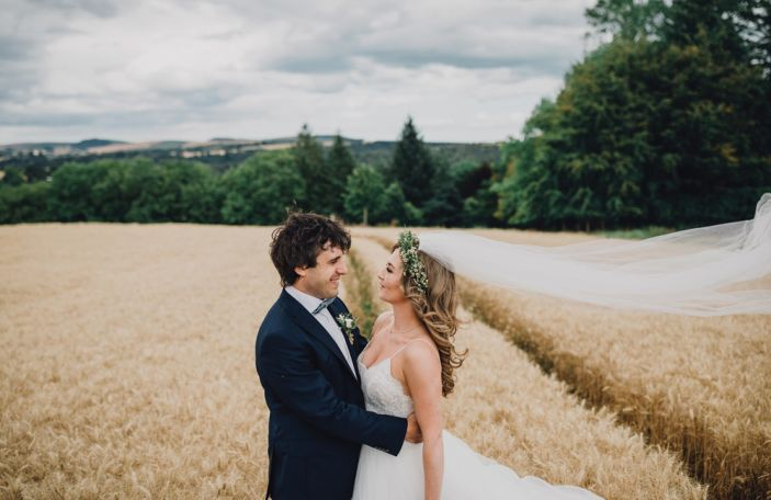 A Music-Themed Wedding for Éabha and John in Co. Wicklow