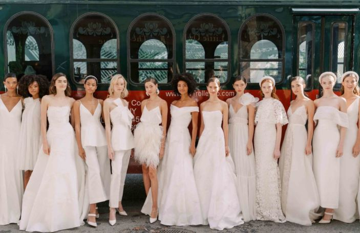 7 wedding dress trends we're loving for 2020 brides