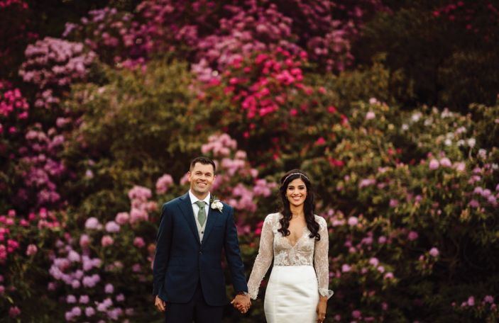 An Irish Destination Wedding for Californians Raya and Michael