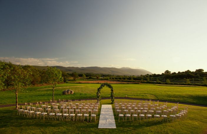 Ballygarry House have added a new rustic, elegant ceremony venue on site