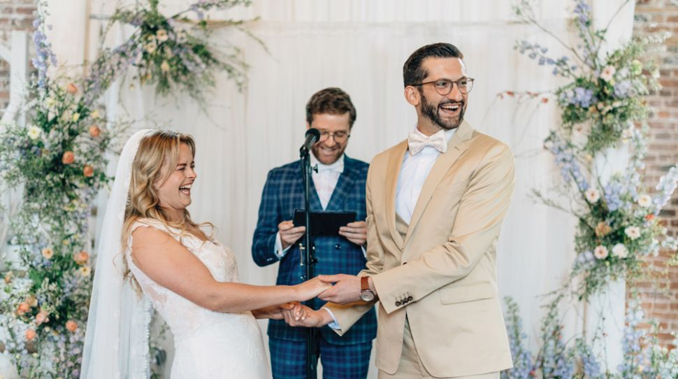 A Floral-Infused Wedding for Cliona and Marko at The Millhouse