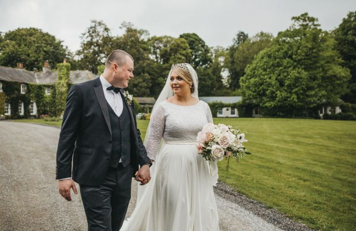 A Beautiful Rathsallagh House Wedding for Roisin and Paul