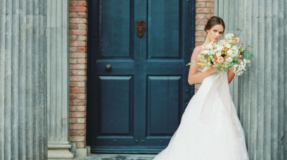 6 ethereal wedding dresses from our Kilshane House wedding shoot