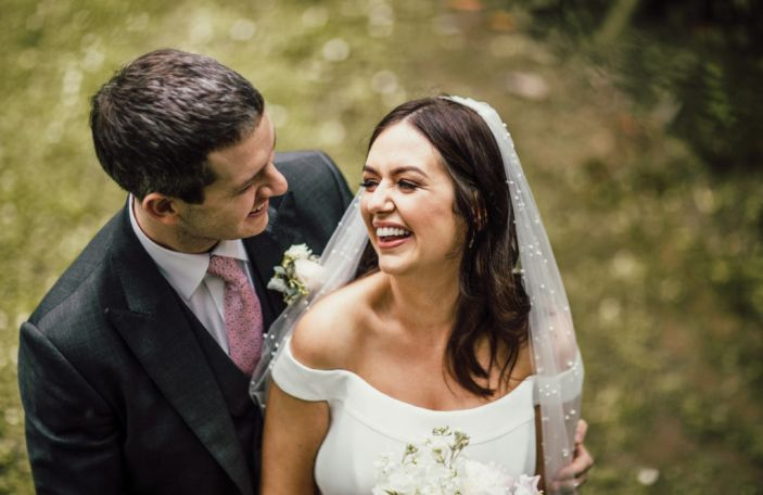 Clare and Oliver's sophisticated Kilshane House wedding in Co Tipperary