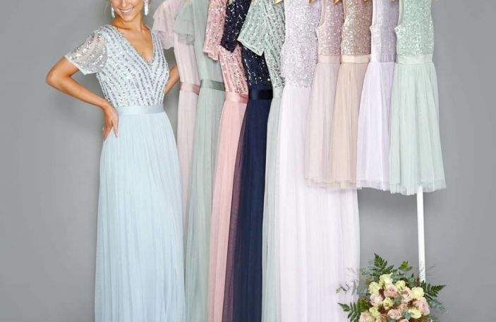 Pamela Scott's gorgeous range of bridesmaid dresses has something for everyone