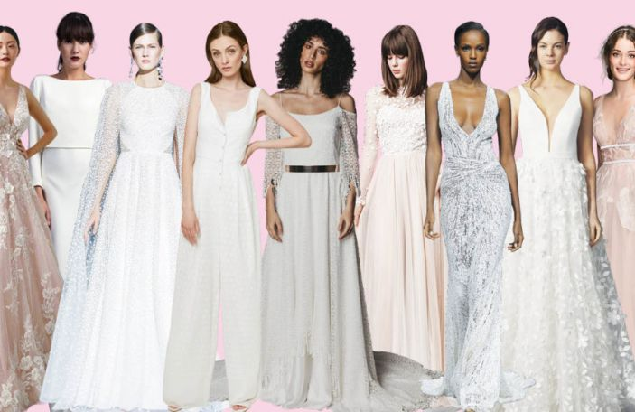 9 key wedding dress trends we're loving for 2020/2021 brides