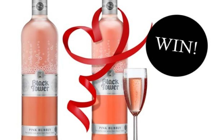 Win a case of Black Tower Pink Bubbly!