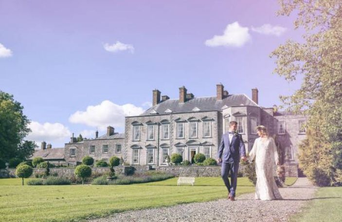 Rustic styling in the gorgeous surrounds of Castle Durrow