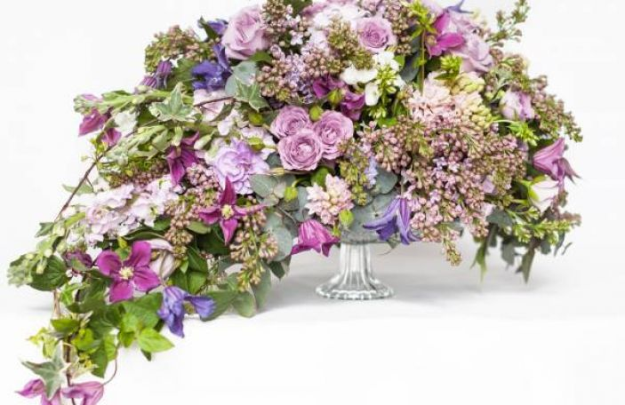 April Wedding Flower Inspiration from The Shelbourne Hotel
