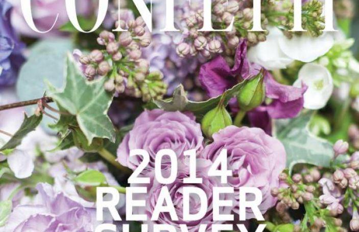 Confetti Reader Survey 2014