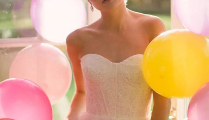 A Whimsical Spring Wonderland of Bridal Fashion