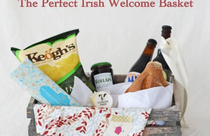 How to Make the Perfect Irish Wedding Welcome Basket for Your Guests
